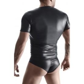 Мужская футболка с эффектом wetlook